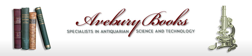 AVEBURY BOOKS || Specialists in Antiquarian Science and Technology